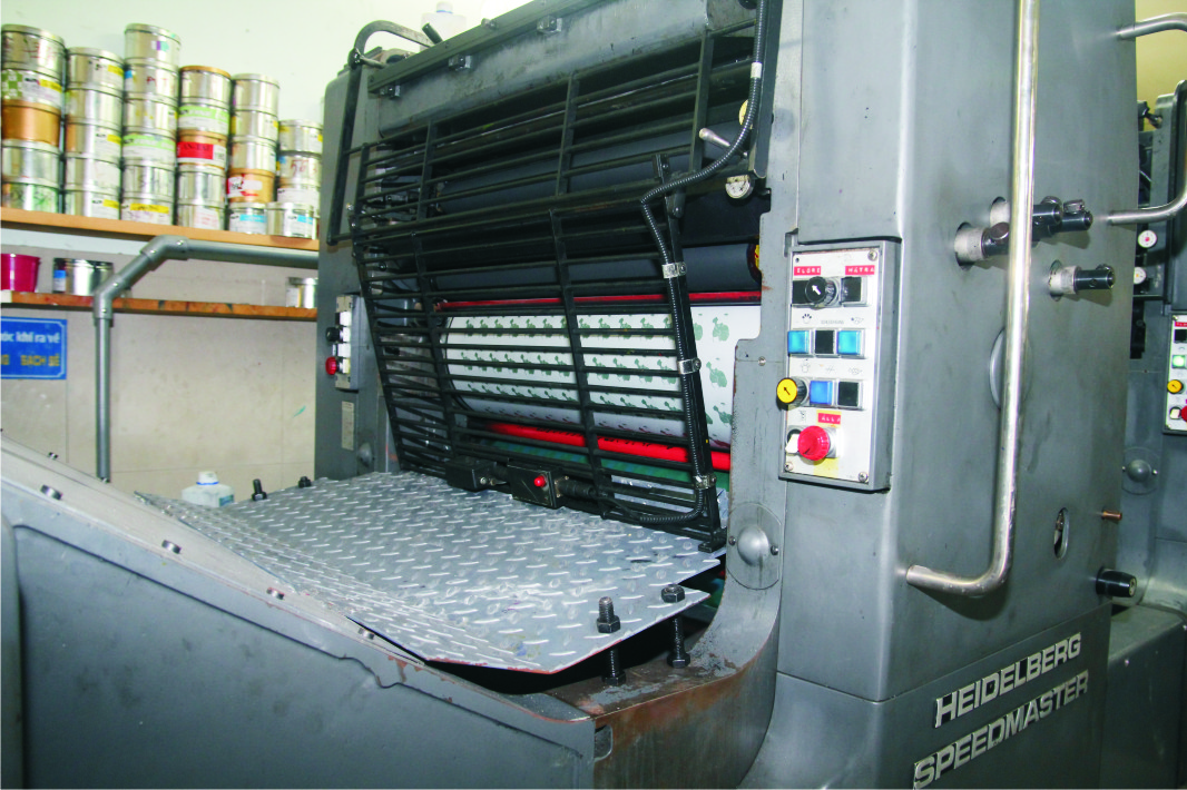 May In Offset 2 mau Heidelberg Speed Master 52x72
